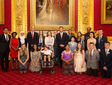 20 inspirational young people receive the Diana Legacy Award
