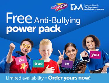 FREE Trutex #bTRU2u Anti-Bullying Power Packs for schools